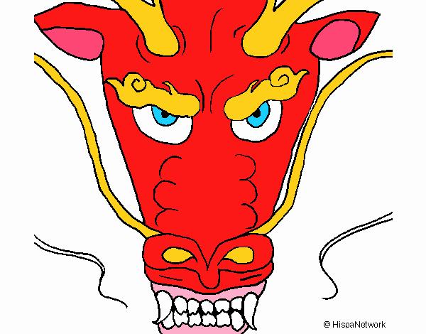 Cabeça de dragão