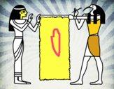 Cleopatra e Thot