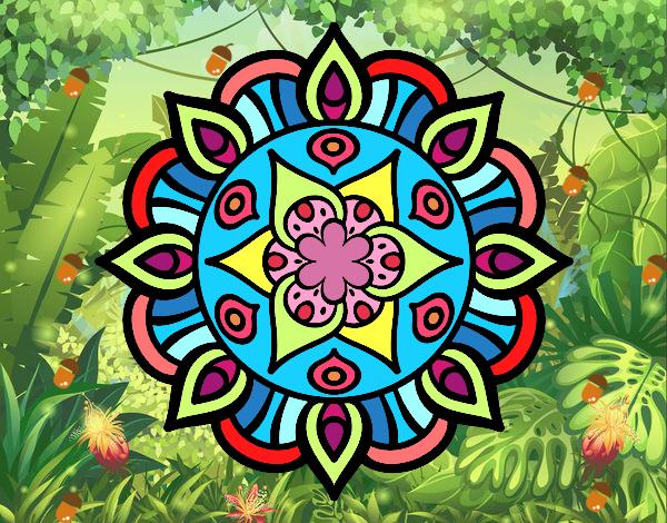 Mandala vegetal