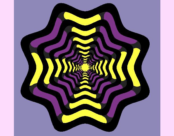Desenho Mandala 46 pintado por ceciliaz