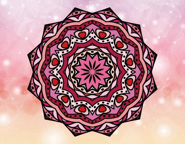 Mandala com estrato
