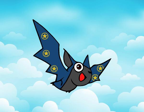 Desenho Morcego pintado por Bianca99