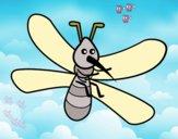 Mosquito com grandes asas