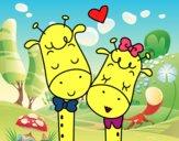 Girafas amar