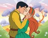 Desenho Beijo de amor pintado por Craudia