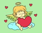 Cupido com coração