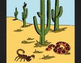 Desenho Deserto  pintado por Craudia