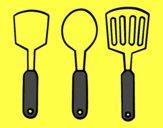 espátulas de cozinha