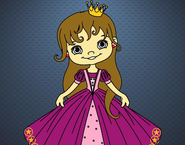 Desenho A Princesinha pintado por luanah
