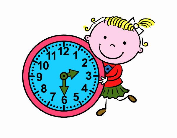 Resultado de imagem para desenho horas relogio