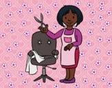 Estilista cabeleireira