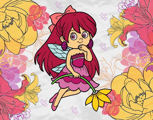 Fada da flor
