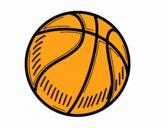 A bola de basquete