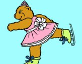 Ursa a patinar