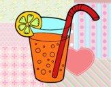 Desenho Copo de refrigerante pintado por Nathyye