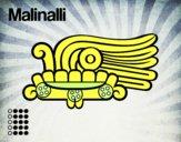 Os dias astecas: grama Malinalli