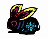 Desenho Signo do coelho pintado por Nanolobo