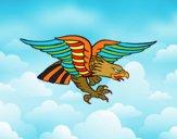 Desenho Tatuagem de águia pintado por Emy2018