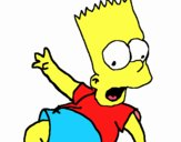 Desenho Bart 2 pintado por lucashenri