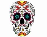 Desenho Caveira mexicana pintado por BEBEKA