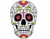 Desenho Caveira mexicana pintado por S8IGNORe