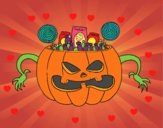 Doces do Halloween