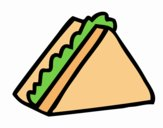 Metade do sanduíche