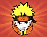 Desenho Naruto enfurecido pintado por kaahSantos