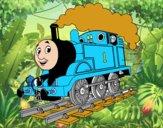 Desenho Thomas a locomotiva 1 pintado por lucashenri