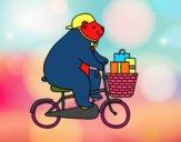 Urso ciclista