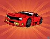 Desenho Carro desportivo veloz pintado por Daian