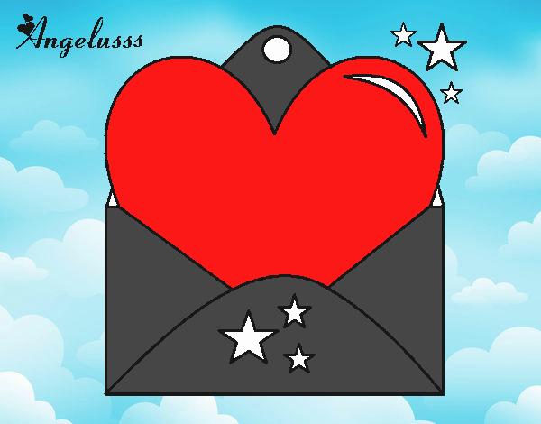 Carta com coração