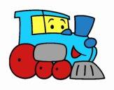 Desenho Comboio 1 pintado por Craudia