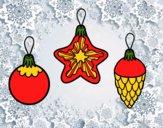 Desenho Decoração para o Natal pintado por Craudia