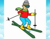 Esquiador II