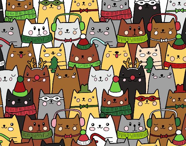Gatos do Natal