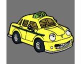 Desenho Herbie Taxista pintado por Craudia