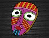 Desenho Máscara de surpresa pintado por benytri