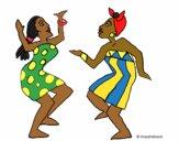 Mulheres a dançar