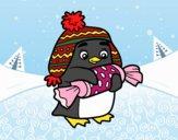 Pinguim com caramelo