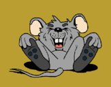Desenho Rato a rir pintado por Craudia
