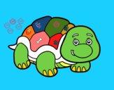 Desenho Tartaruga de terra pintado por VivianeAze