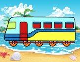 Trem de passageiros