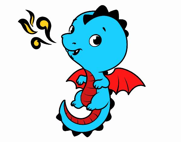 Um dragão bebê