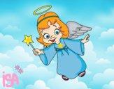 Anjo de Natal mágico