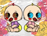 Bebês gêmeos