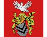 Desenho Escudo de armas e águia pintado por AnaDurigao