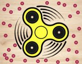 Desenho Fidget spinner pintado por BIELLA