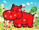 Hipopótamo jovem