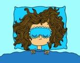 Menina de sono